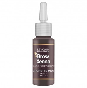 BrowXenna henna pudrowa #105 Frosty Chestnut 10 ml